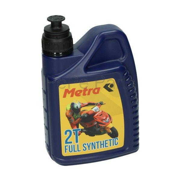 Smeermiddel olie 2t vol synth 1L fles metrakit pro race