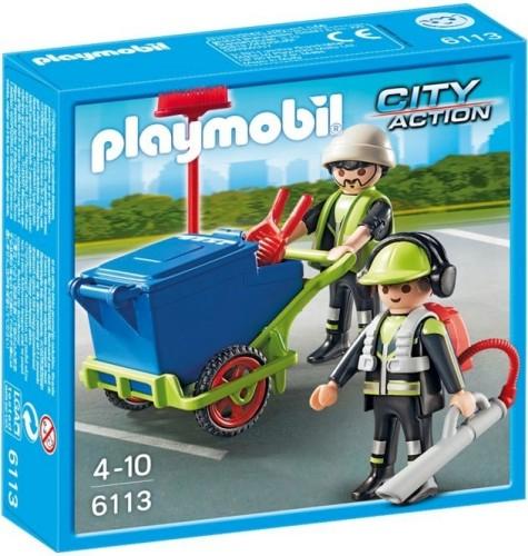 Team Stadsreinigers Playmobil 6113