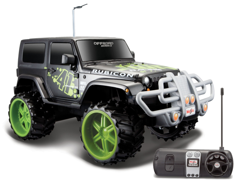 Jeep WRANGLER RUBICON OFF-ROAD RC (1:16)