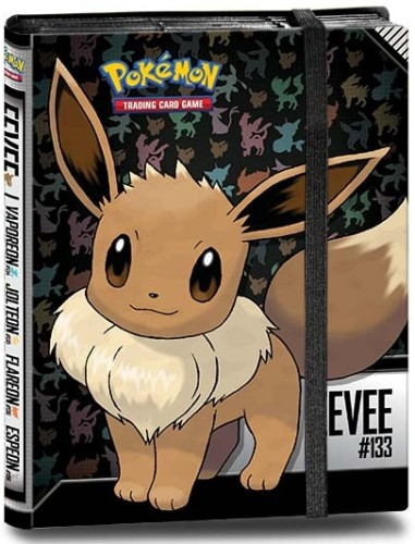 Pokemon ringband luxe 9-pocket Eevee (E84930)