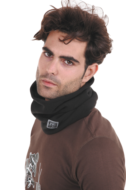 kol zwart tucano 615 fleece collare pile