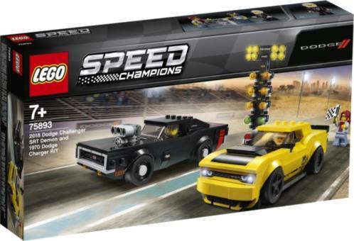 Dodge Challenger en Dodge Charger Lego (75893)