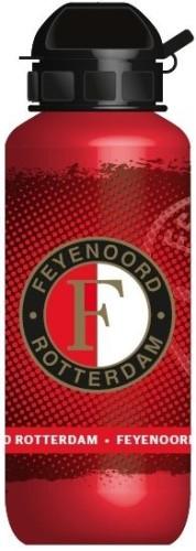 Bidon Feyenoord aluminium rood 400 ml
