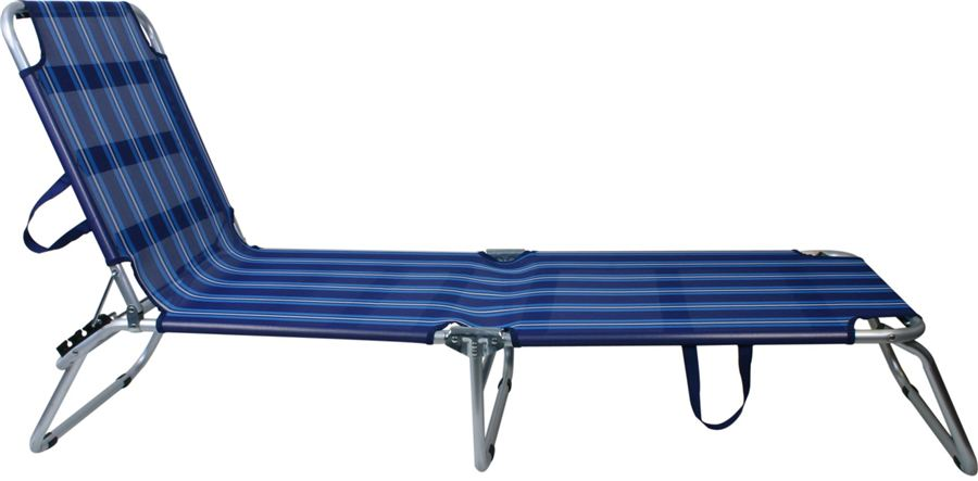 Bed/Stretcher Blauw Aluminium