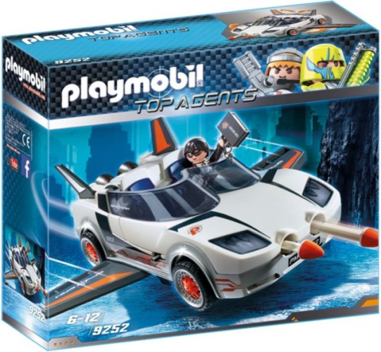 Agent P.s Super Racer Playmobil (9252)