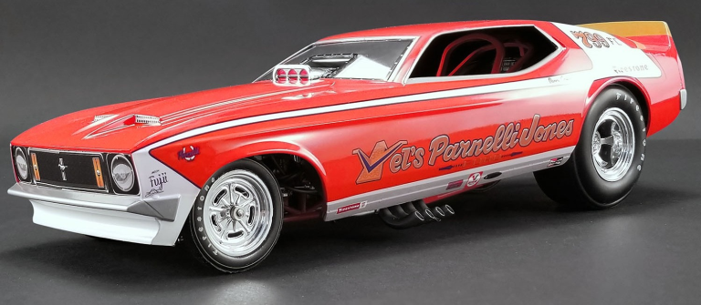 Ford MUSTANG PARNELLI JONES DRAGSTER (1:18) ACME