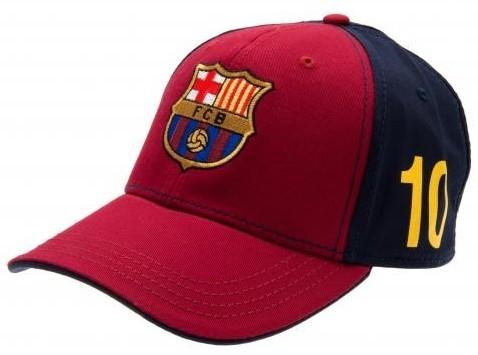 Cap Barcelona Messi Senior Rood/Blauw