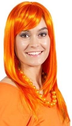 Pruik Holland Oranje