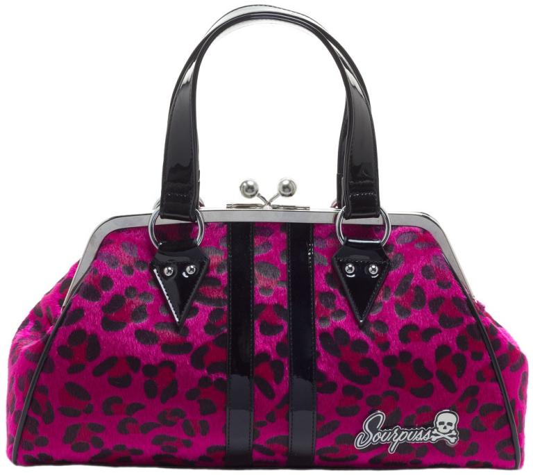 SOURPUSS Temptress Pink Leopard AVONDTAS