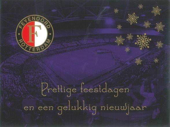 Kerstkaarten Feyenoord Groot Kuip 6-pack