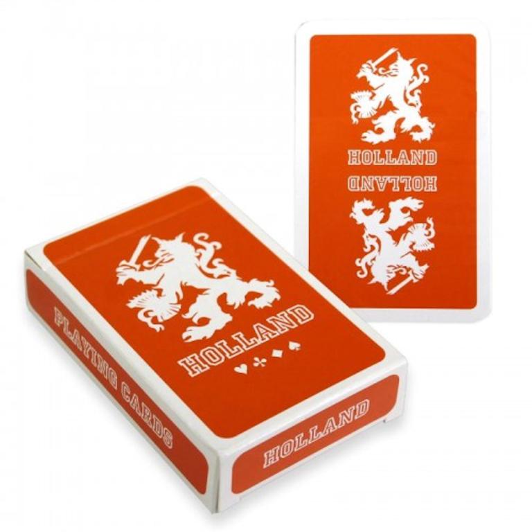 Speelkaarten Holland Leeuw Oranje