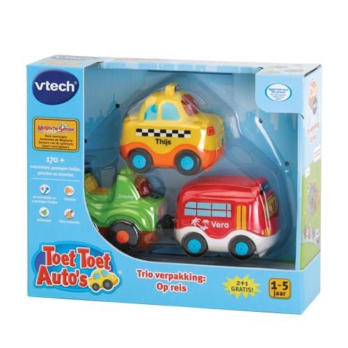 Toet toet Auto city 3-pack Vtech 12+ mnd