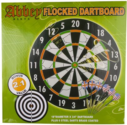 Dartbord Flock Bord Darts