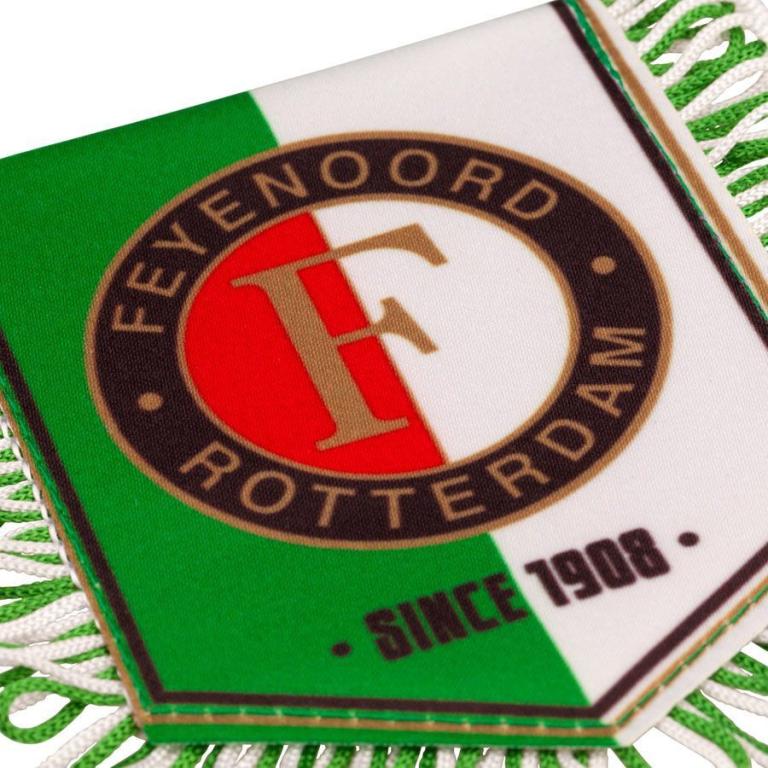 Banier Feyenoord Vaantje/Vaan Groen/wit