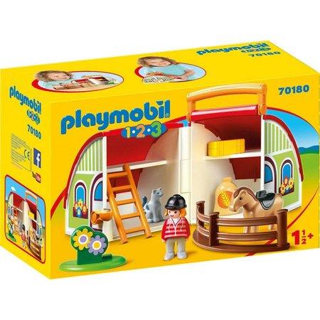 Playmobil Mijn meeneem manege Playmobil (70180)