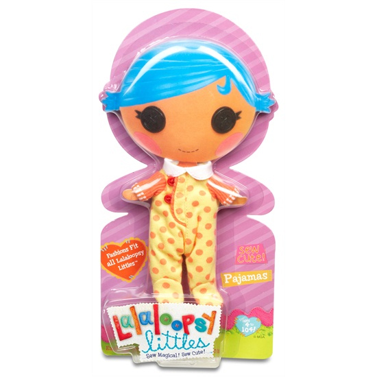 Kleding Lalaloopsy Littles Pyjama Geel