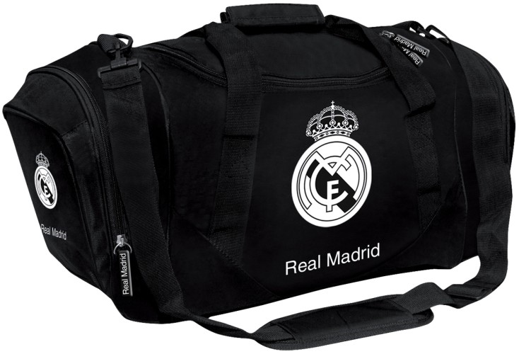 Sporttas Real Madrid Zwart 50x27x25 cm