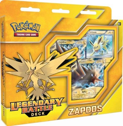 Pokemon Legendary Battle Deck geel Zapdos