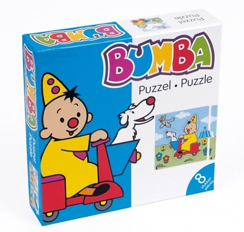 Puzzel Bumba Scooter 8 Pieces (PUZZ340101)