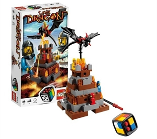 Lava Dragon Game Lego 3838
