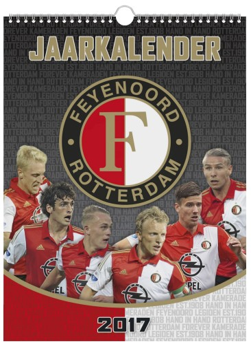 Kalender Feyenoord 2017 -27x36 cm (409621)
