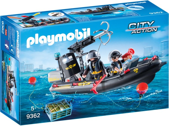 SIE-Rubberboot Playmobil (9362)
