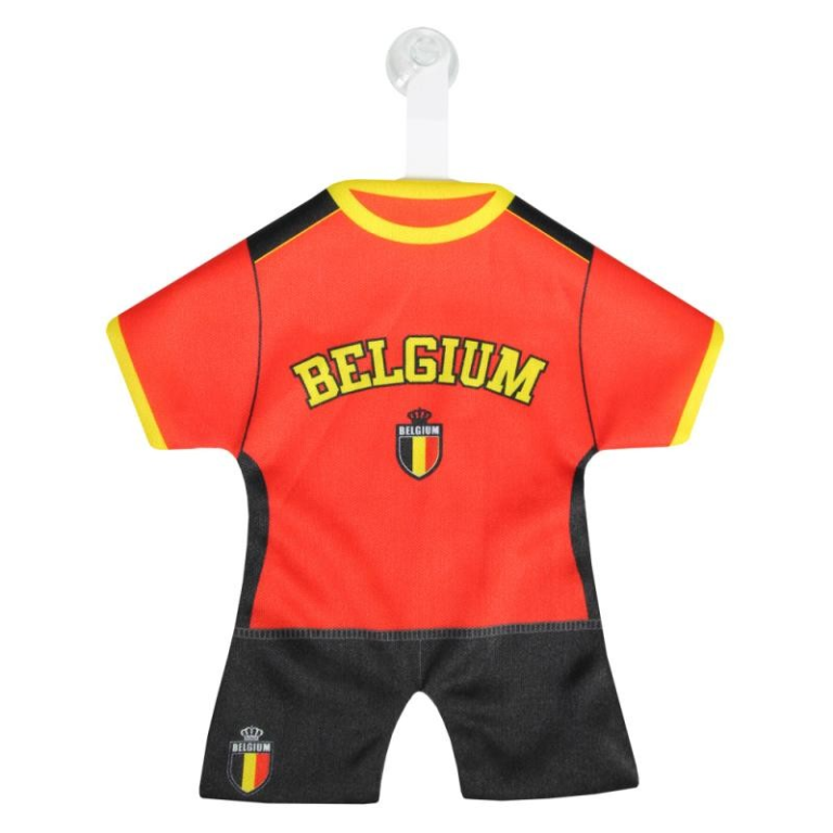 Minidress Belgium Belgie Shirt Rood