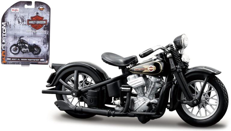 Harley-davidson EL KNUCKLEHEAD 1936 (MAISTO 1:24)