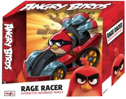 ANGRY BIRDS RAGE RACERS (NOT INCL. BATTERY) (1:32) MAISTO