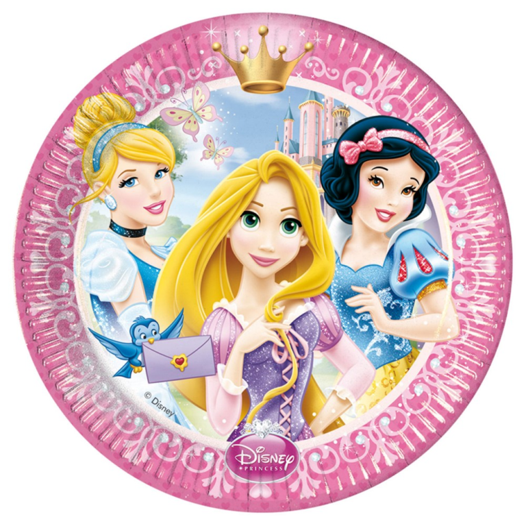 Princess Bordjes 8-Pack