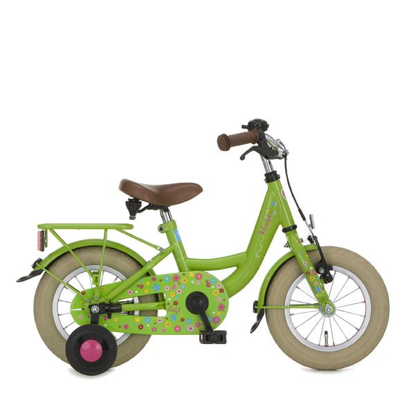 Lief! fiets 12 M remnaaf groen