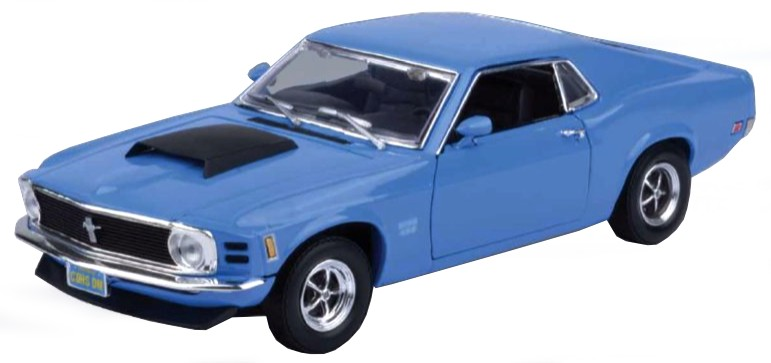 FORD MUSTANG BOSS 429 COUPE 1970 (1:18)