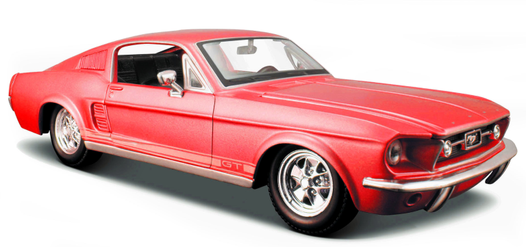 FORD MUSTANG GT 1967 (1:24) MAISTO (31260R-ford)