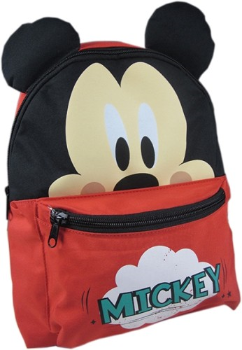 Rugzak Mickey Mouse luxe rood