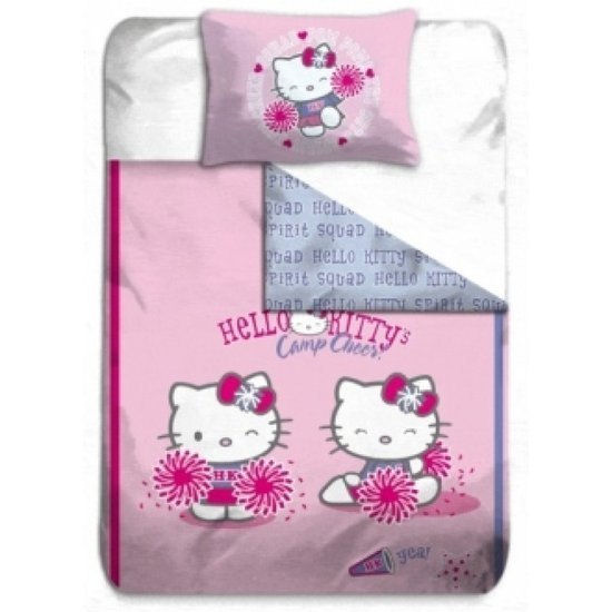 Dekbed Hello Kitty Camp Cheer 140x200CM