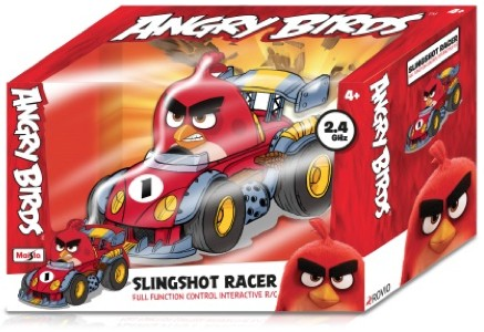ANGRY BIRDS SLINGSHOT RACERS (NOT INCL. BATTERY) 27Mhz (1:32) MAISTO