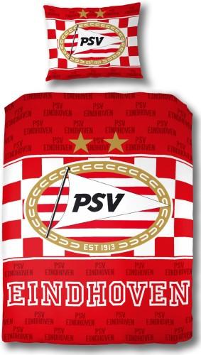 PSV Dekbed PSV Rood/wit