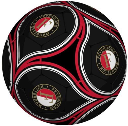 Bal Feyenoord leer groot zwart druppel
