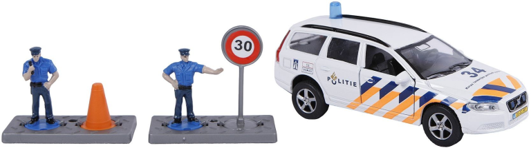 Auto pb Kids Globe Volvo V70 politie + accessoires (510781)