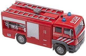 Auto pb Kids Globe brandweer + licht/geluid (510657)