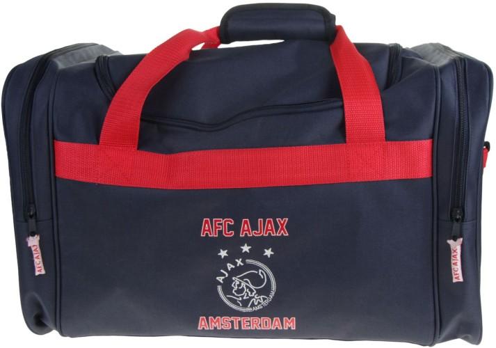 Sporttas Ajax Blauw Logo
