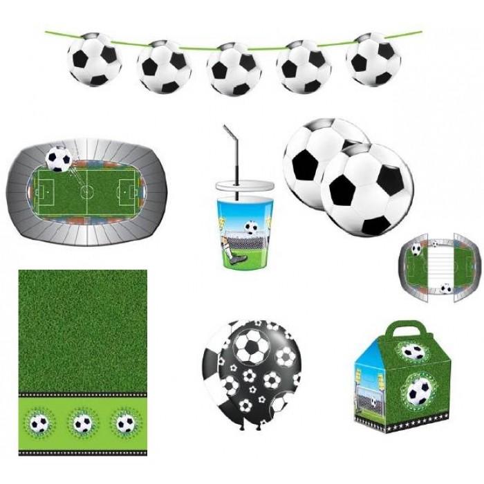 Feestpakket Voetbal 58-Delig
