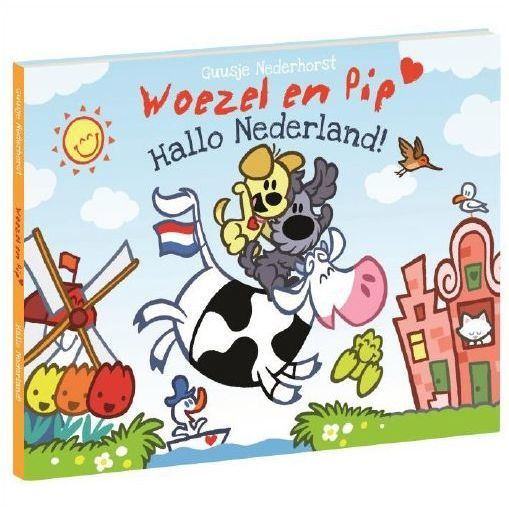 Woezel en Pip Boekje Hallo Nederland