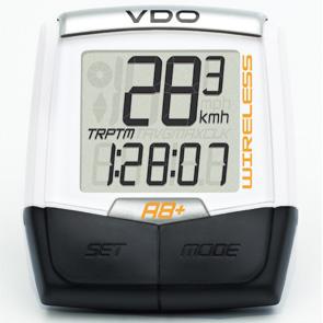 VDO fietscomp A8+ snoerloos/draadloos.