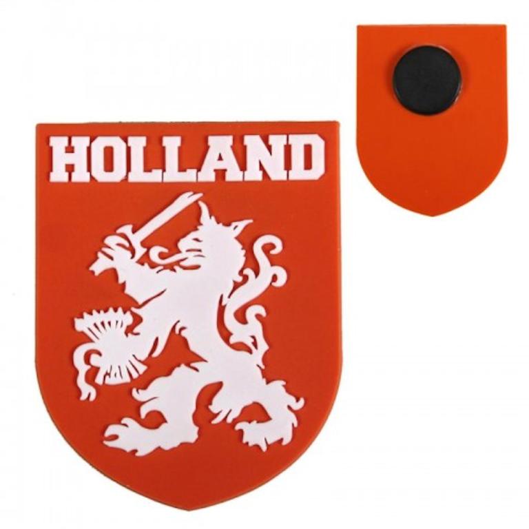Magneet Holland Leeuw Schild Oranje