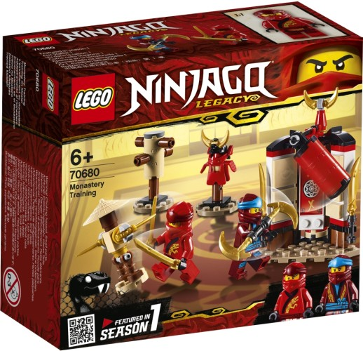 Kloostertraining Lego (70680)