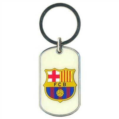 Barcelona Sleutelhanger Glow in The Dark