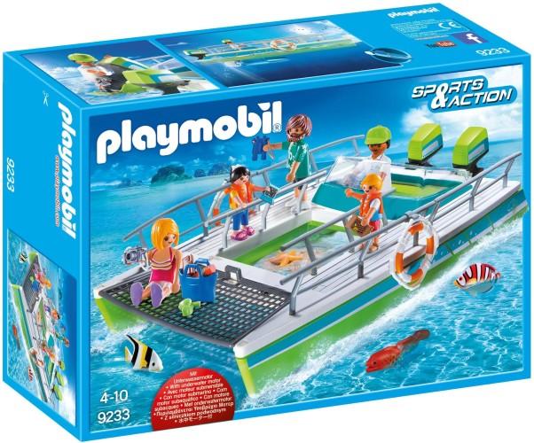 Glasboot met Onderwatermotor Playmobil (9233)
