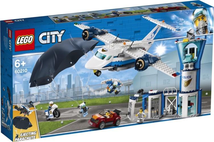 Luchtpolitie luchtmachtbasis Lego (60210)