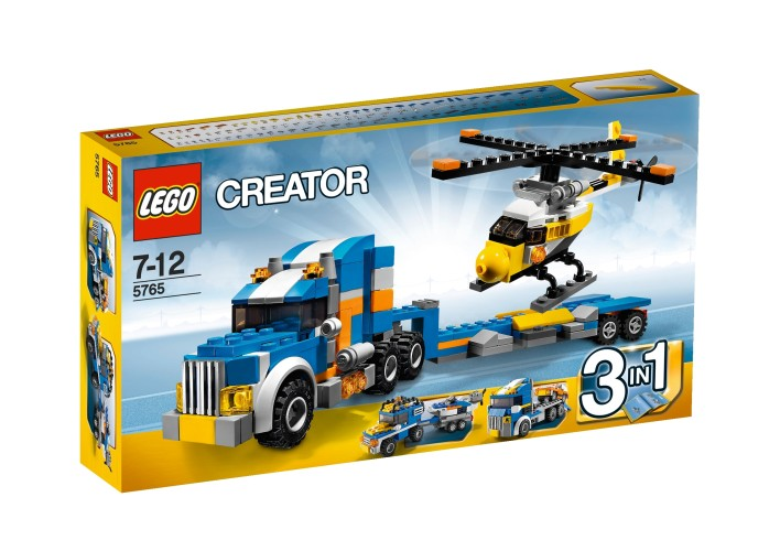 Transport Vrachtwagen Creator 3 in 1 Lego 5765